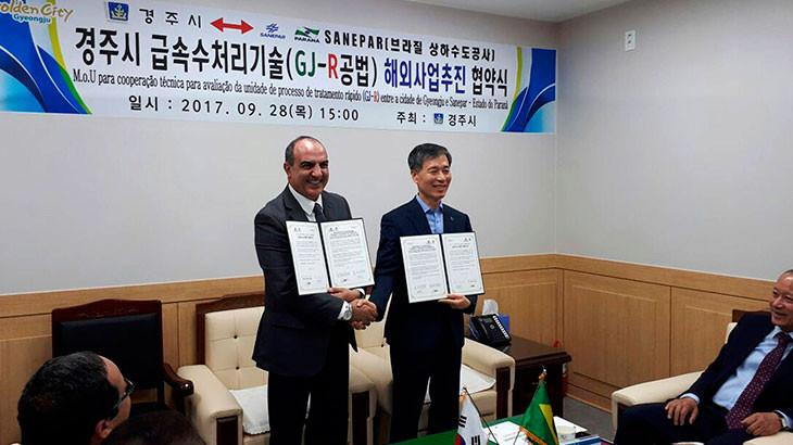 Sanepar-oficializa-parceria-com-empresas-coreanas