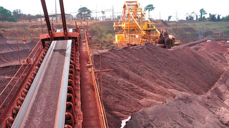 Preço do minério de ferro avança com alerta de poluição na China
